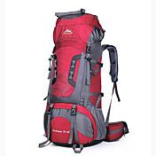 75 L 배낭 캠핑 & 하이킹 등산 방수 착용 가능한 통기성