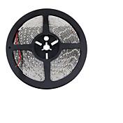 5 m Fleksible LED-lysstriper 300 LED 3528 SMD Varm hvit / Hvit / Rød Kuttbar / Koblingsbar / Selvklebende 12 V / IP44