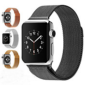 Ver Banda para Apple Watch Series 3 / 2 / 1 Apple Correa Milanesa Acero Inoxidable Correa de Muñeca