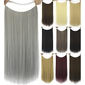 Extensiones de cabello humano sintético 80G 60CM Extension del pelo