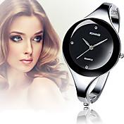 Mujer Reloj de Moda Reloj Casual Reloj de Pulsera Reloj Pulsera Cuarzo La imitación de diamante Aleación Banda Brazalete Elegantes Plata