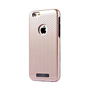 Para Antipolvo Funda Cubierta Trasera Funda Un Color Dura Policarbonato para AppleiPhone 7 Plus iPhone 7 iPhone 6s Plus/6 Plus iPhone