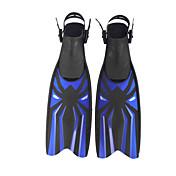 레귤레이터 다이빙 지느러미 조절 가능한 핏 긴 오리발 어떠한 도구가 필요 없음 수영 다이빙 & 스노쿨링 플라스틱