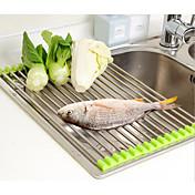 1pc Repisas y Soportes Acero Inoxidable Fácil de Usar Organización de cocina