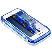 Etui Til Apple iPhone 6 iPhone 7 Plus iPhone 7 Støtsikker Bakdeksel Linjer / bølger Hard Karbonfiber til iPhone 7 Plus iPhone 7 iPhone 6s
