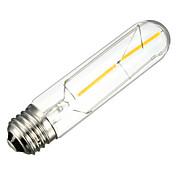 E26/E27 Bombillas de Filamento LED Tubo 2 SMD 5730 200 lm Blanco Cálido 2700 K Decorativa AC 100-240 V