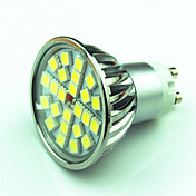 4W GU10 Focos LED MR16 24 SMD 5050 200-250 lm Blanco Cálido Blanco Fresco K Regulable AC220 V