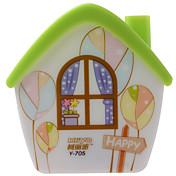 Kly enchufar pequeña lámpara de la noche llevó la lámpara de noche la apariencia casa estilo de dibujos animados para la habitación del