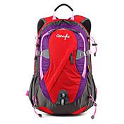 28 L 백패킹 배낭 자전거 배낭 백팩 커버 캠핑 & 하이킹 등산 사이클링 / 자전거 여행 방수 비 방지 착용 가능한 다기능 나일론 메쉬 OSEAGLE