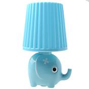 kly plugge i liten nattlampe ledet tegneserie stil elefant kreativ nattlampe