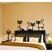 Animales De moda Ocio Pegatinas de pared Calcomanías de Aviones para Pared Calcomanías Decorativas de Pared, Papel Decoración hogareña