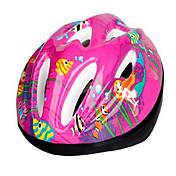 스포츠 아동 남여 공용 자전거 헬멧 9 통풍구 싸이클링 사이클링 산악 사이클링 도로 사이클링 레크리에이션 사이클링 하이킹 클라이밍 PC EPS 레드 블루