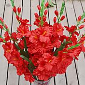 1 Gren Plastikk Orkideer Bordblomst Kunstige blomster