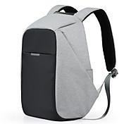 mochilas de negocio portátil backpack17 pulgadas multifuncionales bolsas de viaje ocasional de poliéster impermeable