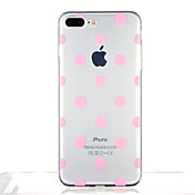 Funda Para Apple iPhone 7 Plus iPhone 7 Transparente Diseños Funda Trasera Azulejo Diseño Geométrico Suave TPU para iPhone 7 Plus iPhone