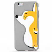 Para Manualidades Funda Cubierta Trasera Funda Perro Dura Policarbonato para AppleiPhone 7 Plus iPhone 7 iPhone 6s Plus iPhone 6 Plus