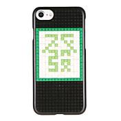 Para Diseños Manualidades Funda Cubierta Trasera Funda Palabra / Frase Dura Policarbonato para AppleiPhone 7 Plus iPhone 7 iPhone 6s Plus