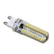 1pc 5 W 400-500 lm G9 / G4 / G8 LED-lamper med G-sokkel T 80 LED perler SMD 4014 Mulighet for demping Varm hvit / Kjølig hvit 220 V / 110 V / 1 stk. / RoHs