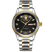 Tevise Hombre El reloj mecánico Reloj de Pulsera Reloj de Vestir Reloj de Moda Cuarzo Calendario Resistente al Agua La imitación de