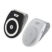 아이폰 스피커폰에 대 한 핸 즈 프리 블루투스 자동차 키트 썬 바이저에 무선 클립을 취소하는 소음 휴대용 자동차 오디오 블루투스 4.1 멀티 포인트 스피커