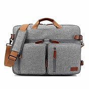 "Textil Color sólido Bolsos de Mano Mochilas Bolsa de hombro Laptop de 17 """