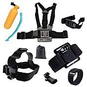 Action Kamera / Sportskamera / Brystbelte / Hodebånd Multifunksjonell / Foldbar / Justerbar Til Action-kamera Gopro 6 / Alle / Xiaomi