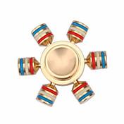 Fidget spinners Hilandero de mano Juguetes Six Spinner Alta Velocidad Alivio del estrés y la ansiedad Juguetes de oficina Alivia ADD,