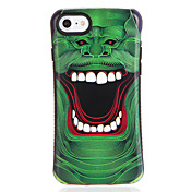 Etui Til Apple iPhone 7 Plus iPhone 7 Mønster Bakdeksel Tegneserie Myk TPU til iPhone 7 Plus iPhone 7 iPhone 6s Plus iPhone 6s iPhone 6