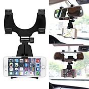 ziqiao 360도 자동차 백미러 마운트 휴대 전화 홀더 브래킷 스탠드 iphone 휴대 전화 GPS에 대 한 samsung에 대 한 요람 스탠드