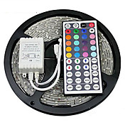ZDM® 5 m Lyssett 300 LED SMD 2835 1 44Kjør fjernkontrollen RGB Kuttbar / Vanntett / Dekorativ 12 V 1set / IP65 / Koblingsbar / Selvklebende