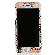 Funda Para Apple iPhone 7 Plus iPhone 7 Diseños Funda de Cuerpo Entero Flor Dura ordenador personal para iPhone 7 Plus iPhone 7 iPhone 6s