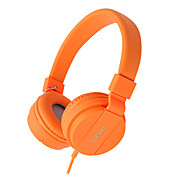 Gorsun Sobre el oído Cinta Con Cable Auriculares El plastico Teléfono Móvil Auricular Aislamiento de ruido Auriculares
