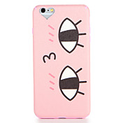 Funda Para Apple iPhone 7 / iPhone 7 Plus Diseños Funda Trasera Caricatura Suave TPU para iPhone 7 Plus / iPhone 7 / iPhone 6s Plus