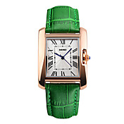 Hombre Digital Reloj de Pulsera Reloj Deportivo Chino Resistente al Agua Cuero Auténtico Banda Encanto Reloj creativo único Reloj de