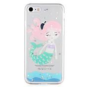 제품 케이스 커버 패턴 뒷면 커버 케이스 섹시 레이디 글리터 샤인 소프트 TPU 용 Apple 아이폰 7 플러스 아이폰 (7) iPhone 6s Plus iPhone 6 Plus iPhone 6s 아이폰 6