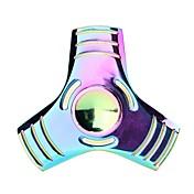 Fidget spinners Hilandero de mano Peonza Juguetes Juguetes Tri-Spinner Juguetes Metal EDC Alivio del estrés y la ansiedadAprendizaje y