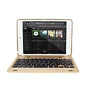 Etui Til Apple iPad Mini 4 iPad Mini 3/2/1 med tastatur Autodvale / aktivasjon Flipp Heldekkende etui Hard til iPad Mini 4 iPad Mini