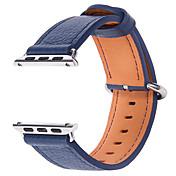 Watch band for Apple Watch serien 1 2 38mm 42mm ekte lær erstatning stropp armbånd