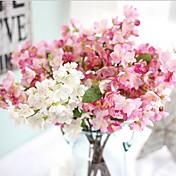 Flores Artificiales 1 Rama Estilo europeo Flores eternas Flor de Mesa