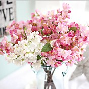 Kunstige blomster 1 Gren Europeisk Stil Evige blomster Bordblomst