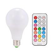 9W 600lm Smart LED-lampe A80 38 LED perler SMD 5050 Varm hvit RGB 85-265V
