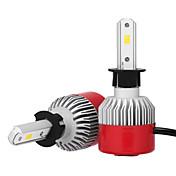 2pcs H3 Coche Bombillas 36W W LED Integrado 3600lm lm LED Luz de Casco