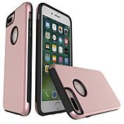애플 아이폰 7 플러스 아이폰 6s 6 플러스 아이폰 5s 5 케이스 커버 tpu 프레임 케이스와 플라스틱