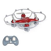 Dron Cheerson CX10SE Red 4 Canales 6 Ejes Iluminación LED Vuelo Invertido De 360 Grados FlotarQuadcopter RC Mando A Distancia Cable USB