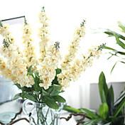 1 Gren Plastikk Lilla Bordblomst Kunstige blomster