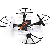 Dron JJRC H33 Orange 4 Canales 6 Ejes Iluminación LED Retorno Con Un Botón Vuelo Invertido De 360 Grados FlotarQuadcopter RC Mando A