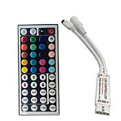 El mini regulador alejado del rgb ir de 24 claves para 3528 o 5050 rgb llevó el pequeño regulador del rgb de las tiras el envío libre