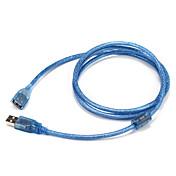 USB 2.0 Adaptador, USB 2.0 to USB 2.0 Adaptador Macho - Hembra 1,5 m (5 pies)