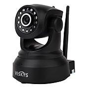 veskys® 720p hd wi-fi cámara ip w / 1.0mp teléfono inteligente de monitoreo remoto soporte inalámbrico 64 gb tf tarjeta