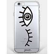 Funda Para Apple iPhone 7 Plus iPhone 7 Diseños Funda Trasera Caricatura Suave TPU para iPhone 7 Plus iPhone 7 iPhone 6s Plus iPhone 6s